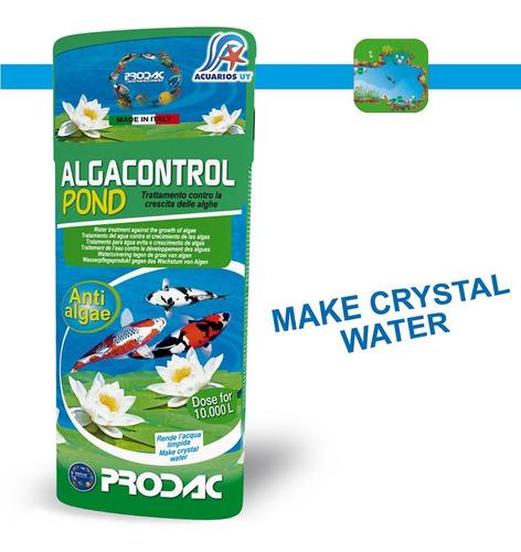 Antialgas Para Estanque. Prodac Algacontrol Pond 5l
