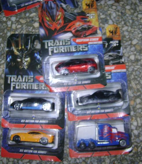 Carritos De Metal Escala 1:64 Transformers
