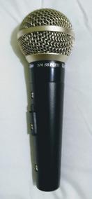 Microfone Profissional Leson Sm 58 Plus - Estojo Completo