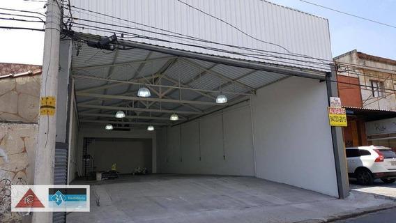 Galpão Para Alugar, 280 M² Por R$ 5.000/mês - Vila Rica - São Paulo/sp - Ga0302