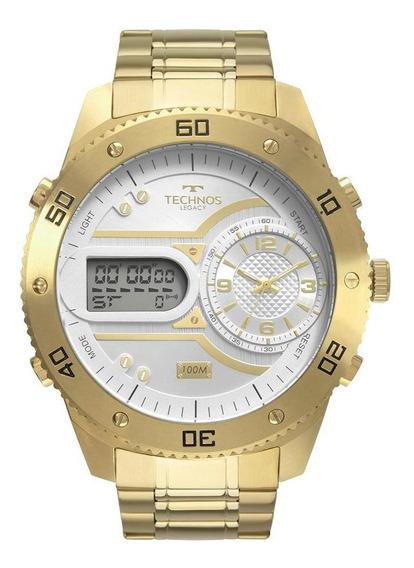 Relógio Technos Masculino Legacy Dourado 2039cb/4x