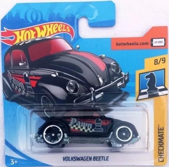 Miniatura Hot Wheels Volkswagen Beetle - Série Checkmate !!!