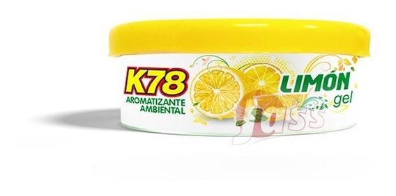 Perfume Fragancia En Lata Gel Auto Ambiente K78 Chica 55grs