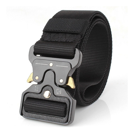 Lixada Nylon Cintura Cinto Com Metal Fivela Ajustável Pesado