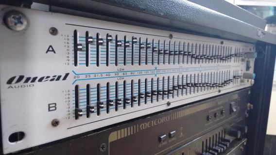 Equalizador Grafico Oneal Oge3120 / Oge 3120 / Frete Grátis