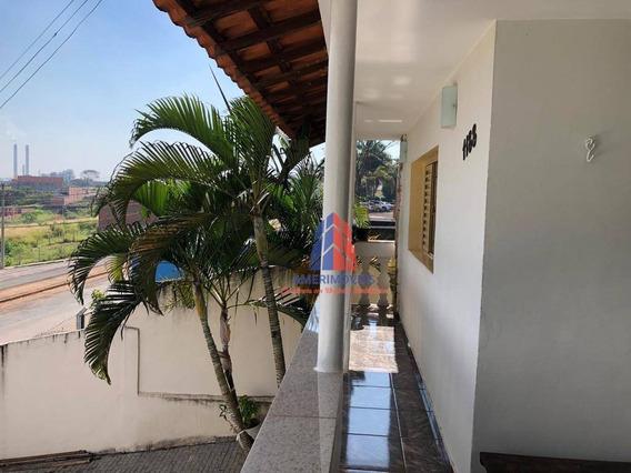 Casa Com 3 Dormitórios À Venda, 184 M² Por R$ 550.000 - Vila Cordenonsi - Americana/sp - Ca1074