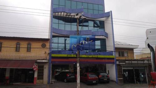 Salão Para Alugar, 380 M² Por R$ 9.500/mês - Vila Guilhermina - São Paulo/sp - Sl0079