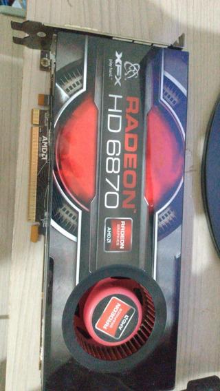 Placa De Vídeo Xfx Radeon-6870 #defeito