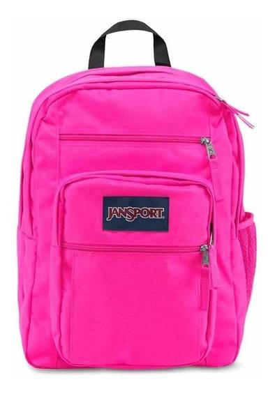 Mochila Jansport Big Student Ultra Pink En Magimundo !!!!