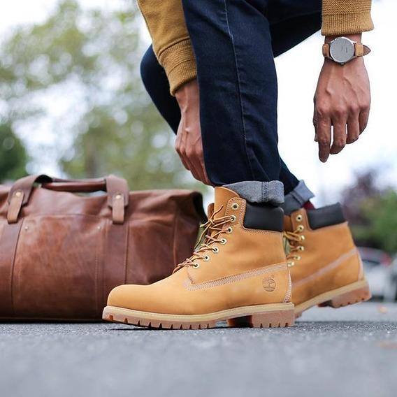 *+* Zapatillas Importadas/ Botas Timberlad/ Para Hombre *+*