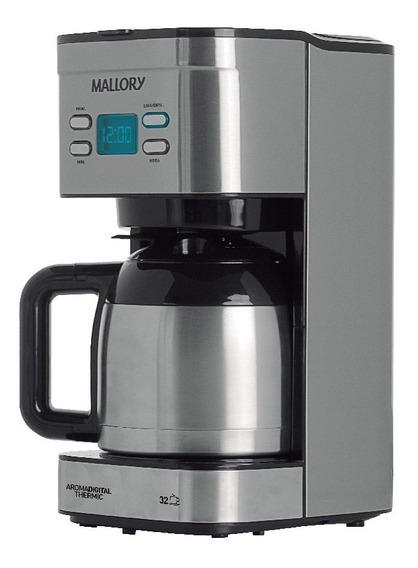Cafeteira Inox Mallory Aroma Digital Thermic