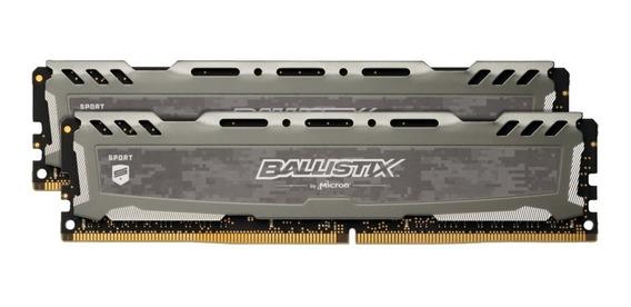 Memória Ddr4 Crucial Ballistix 3200mhz 16gb Pc Desktop Nfe