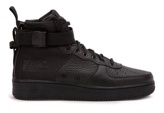 Tênis Nike Air Force 1 Special Field Mid Black,imediato.