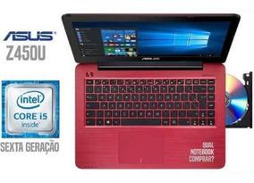 Notebook Asus Core I5-6200u 8gb 500gb Tela 14