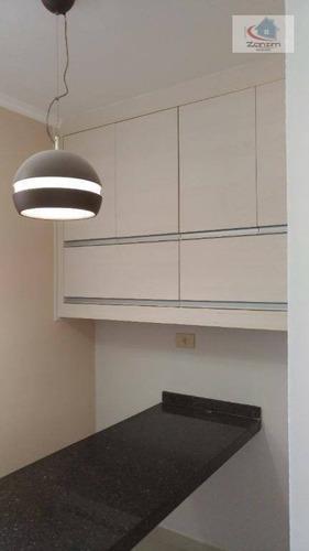 Imagem 1 de 6 de Apartamento Com 2 Dormitórios À Venda, 90 M² Por R$ 320.000,00 - Parque Terra Nova - São Bernardo Do Campo/sp - Ap0706