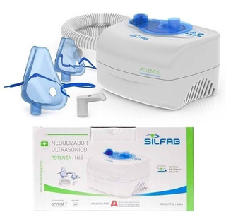 Nebulizador Ultrasónico Silfab N68 Silencioso Camara Sellada