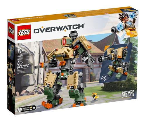 Lego Overwatch  Bastion 602 Peças - 75974