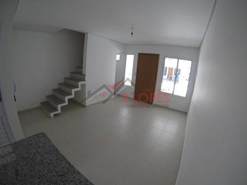 Imagem 1 de 12 de Ótimos Sobrados Em Condomínio Fechado Para Venda No Bairro Vila Taquari, 2 Suíte, 2 Vagas, 100 M - 2003