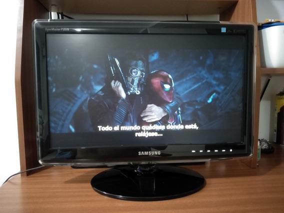 Monitor Samsung 21.5 Syncmaster P2070 2ms 50000:1