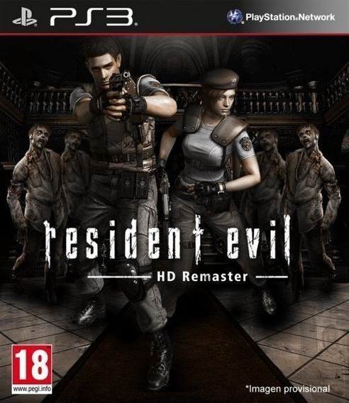Resident Evil Hd Remaster - Psn Ps3