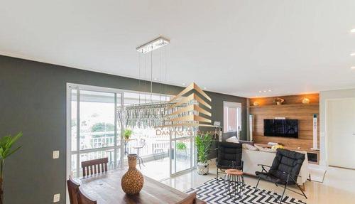 Imagem 1 de 30 de Apartamento No Condomínio Alta Vista, 134m², 3 Dormitórios, 3 Suíte, 2 Vagas, Avalia Permuta. - Ap1195