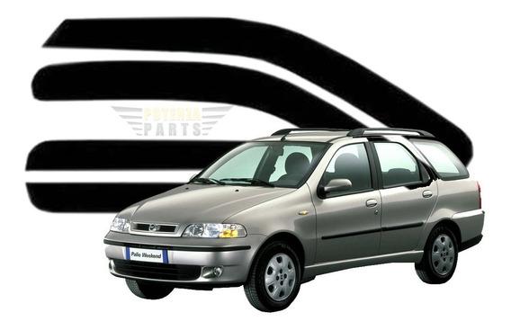 Calha De Chuva Fiat Palio Weekend 4 Portas 1996 A 2016 4 Pçs