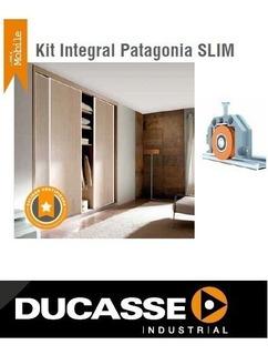 Kit Frente De Placard Patagonia Slim Ducasse 2mts. 2puertas