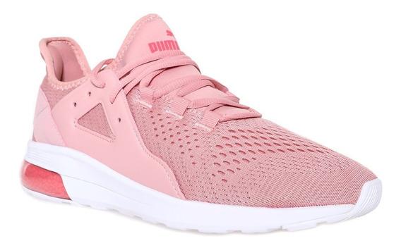 Zapatillas Puma De Mujer Electron Street Rosa Running Y Moda