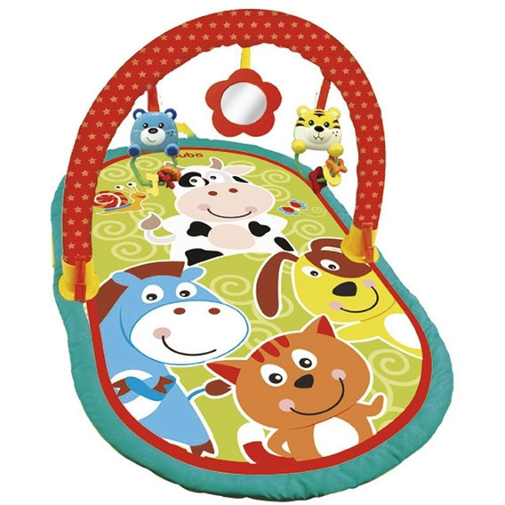 Tapete De Atividades Baby Animais Buba 5833