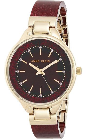 Reloj Dama Anne Klein Con Cristales De Swarovski (-50% Off)