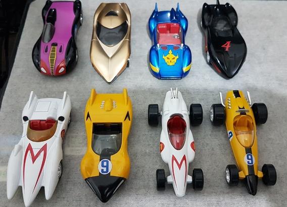 Linda Coleção Speed Racer Completa 8c Jada Toys = Hot Wheels