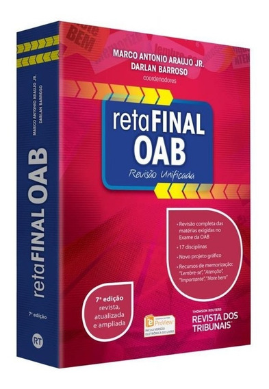 Reta Final Oab - Revisao Unificada - Rt - 7 Ed