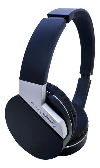 Fone Ouvido Blueto Original Knup Headphones Sd Radio Fm