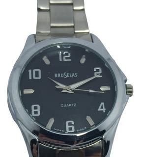 Reloj De Metal Análogo Con Garantía Y Máquina Miyota