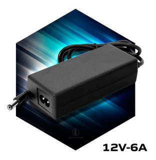 Fuente 12v 6a Transformador Plastico Switching Tira Led Cctv