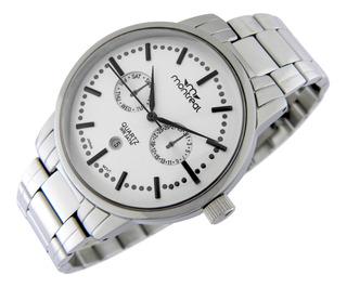 Reloj Montreal Hombre Ml699 Calendario Sumerg Envío Gratis