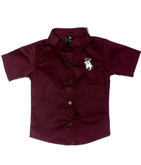 Roupa Infantil Camisa Manga Curta Detalhe Cavalinho