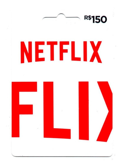 Cartão Presente Netflix Gift Card R$ 150 Reais Envio Digital