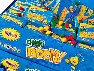 Chaski Boom 100 Cajitas X 10 Unidades.