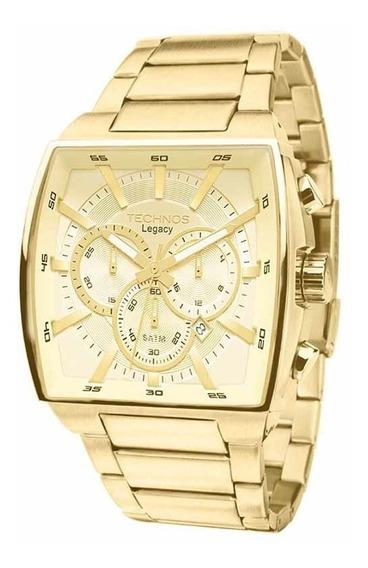 Relógio Technos Masculino Classic Legacy Dourado Js25al/4x