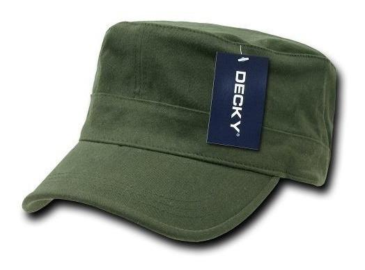 Gorra Decky Flexfit Tipo Cadete Militar 115 Punk Cachucha
