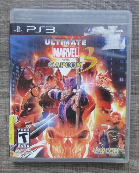 Ultimate Marvel Vs Capcom 3 Ps3 - Mídia Física Lkk