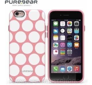 Funda Puregear iPhone 6s Plus / 6 Plus Motif Rosa Puntos