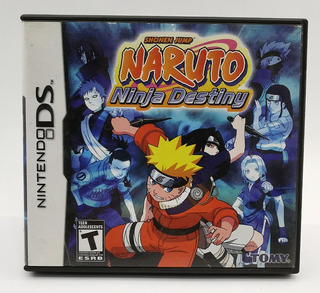 Naruto Ninja Destiny Nuevo Fisico Sellado Nintendo Ds