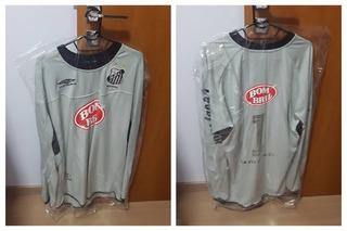Camisa De Goleiro Do Santos 2003