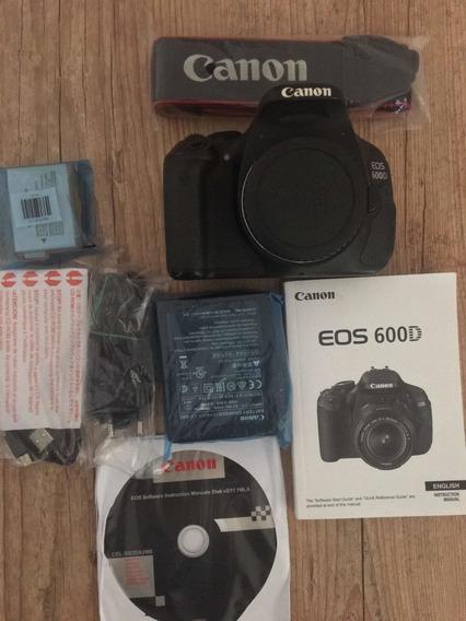 Câmera Dslr Canon 600d T3i
