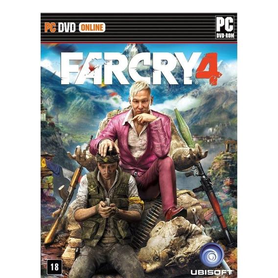 Jogo Novo Lacrado Da Ubisoft Far Cry 4 Para Pc Computador