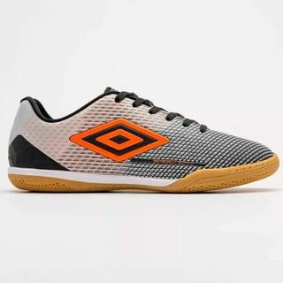 Tênis De Futsal Umbro Speed Sonic - Preto/prata/laranja
