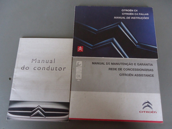 Manual Citroen C4 Pallas 2008 Original Sedan 2.0 16v