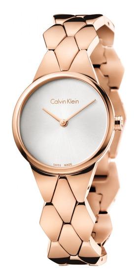Reloj Original Dama Marca Calvin Klein Modelo K6e23646